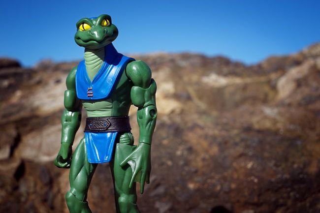 Lizard Man! Heman Lizard Geico Actionfigure