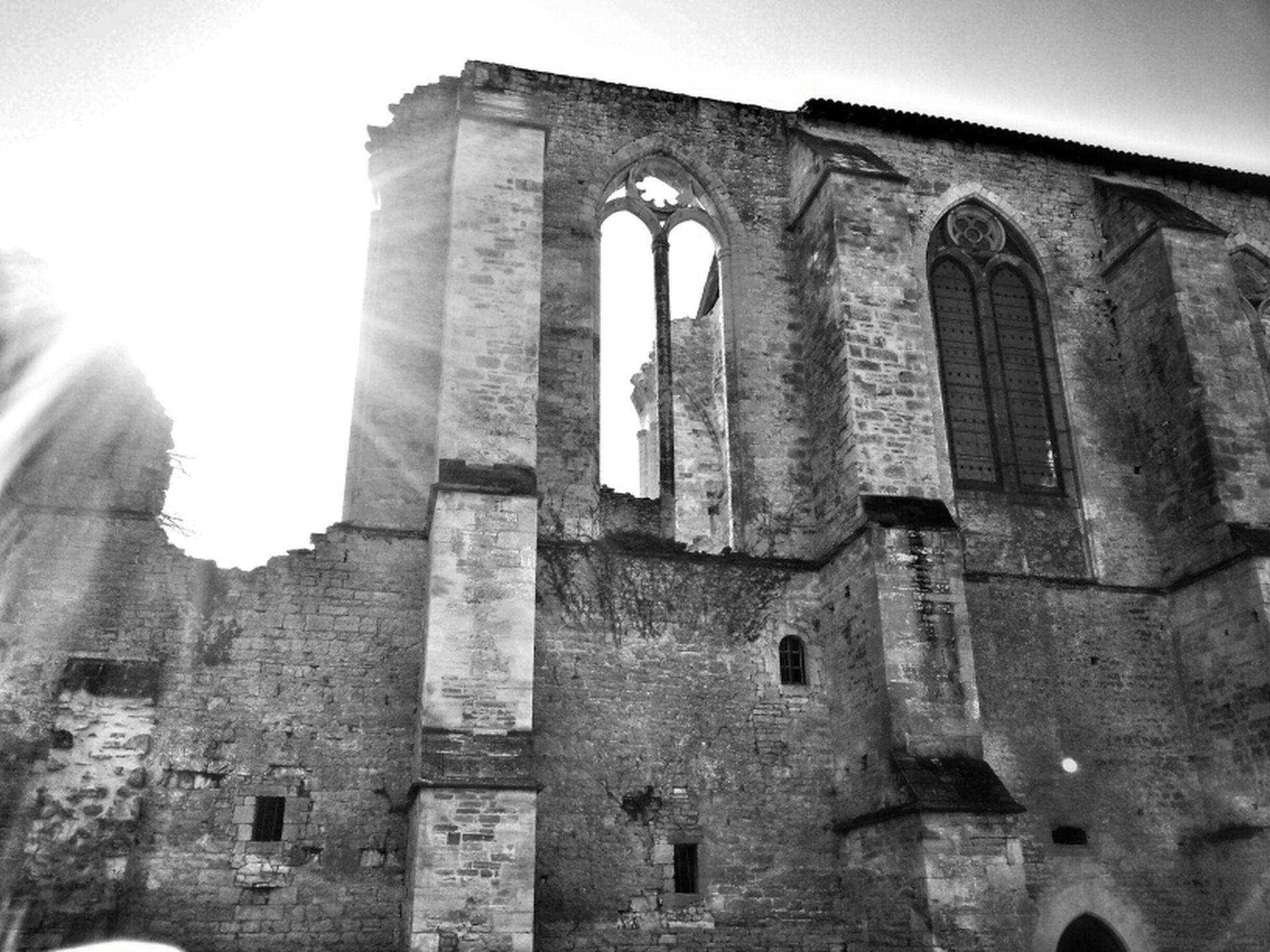 Blackandwhite France Church