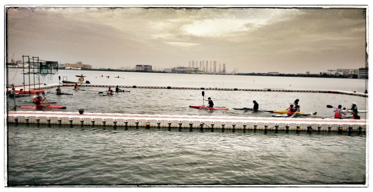 Good morning, canoe polo-ists! CanoePolo Singapore Pandanreservoir Canoes Paddles