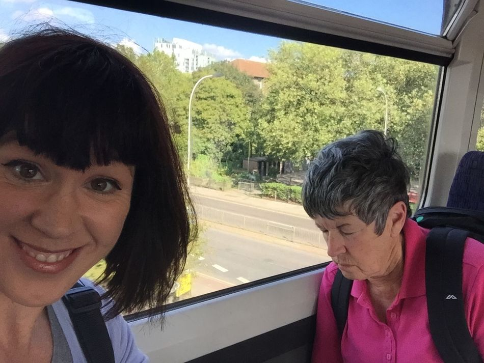 We absolutely LOVE the London rail system!!! Popped out of the underground and saw some of the city from a different angle 😍 Travel Buddy That's Me London Wolfe Does UK