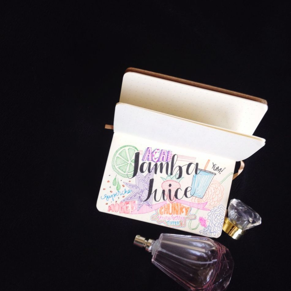 Who doesn't love Jamba Juice ? Gabskie Notebook Teens Philippines