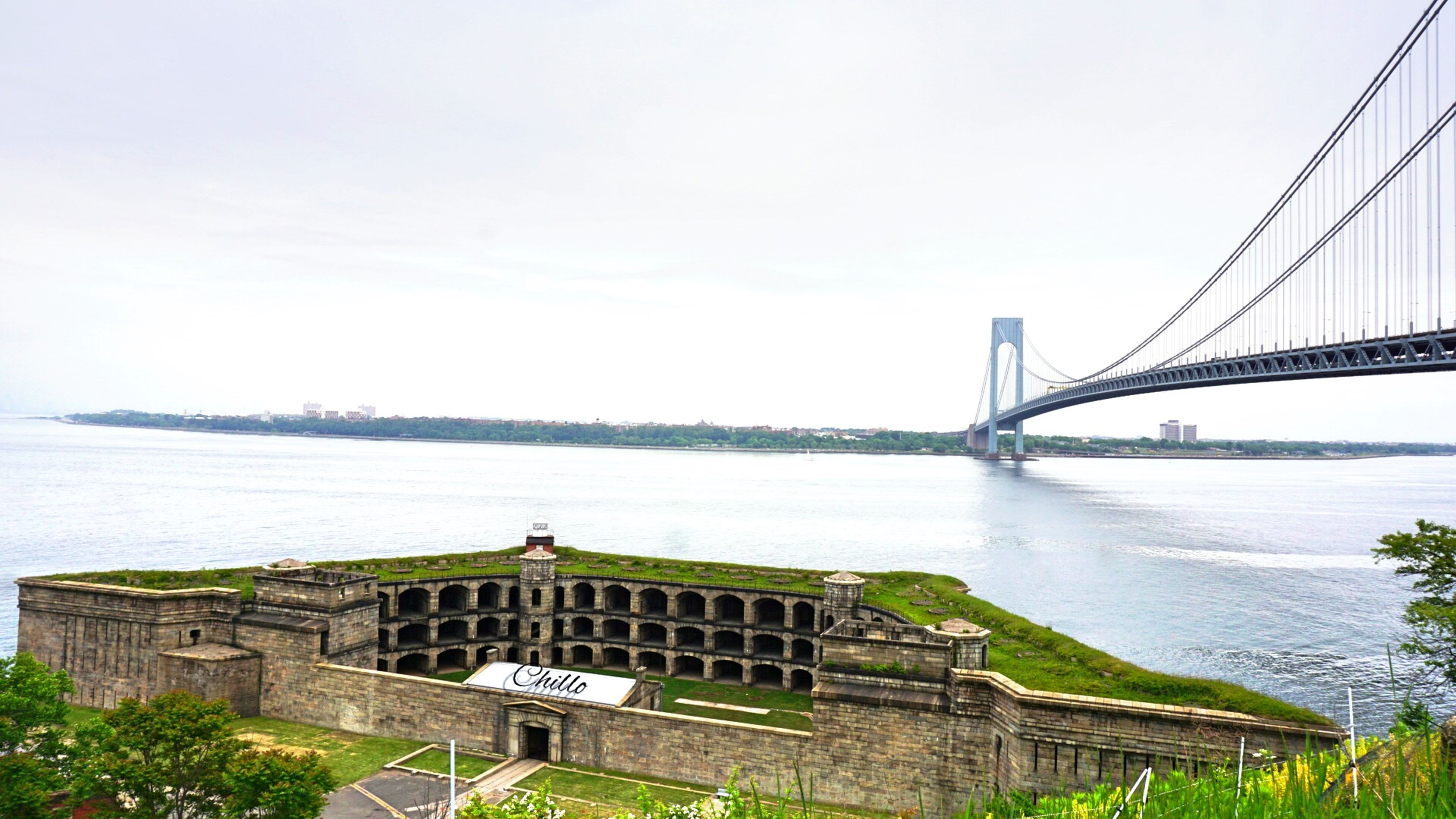 Over looking fort and Verrazano bridge towards Brooklyn. Eye4photography  Photography Sony A6000 Urban Geometry Streetphotography NYC Photography The Purist (no Edit, No Filter) Urbanphotography The Places I've Been Today EyeEm Best Shots