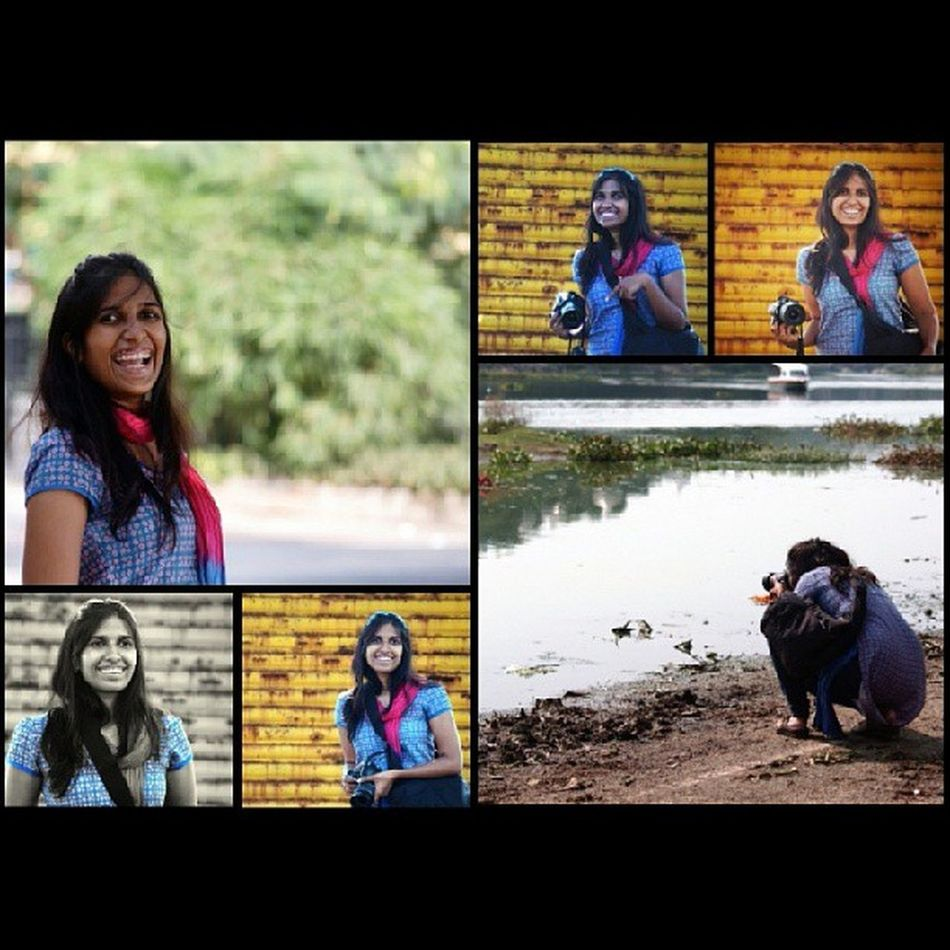 Roopali in action at Instameethyderabad2 with Instagram Instagrammers Latergram photogrid