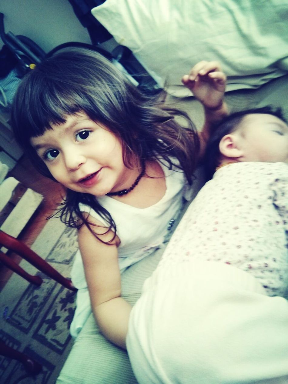 my beautiful girls! Hanging Out Sisters ❤ Taking Photos Quality Time With Little Sister