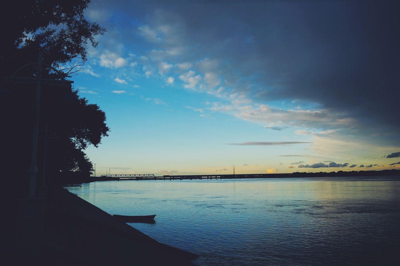 Photos 365 Riverbank River Clouds