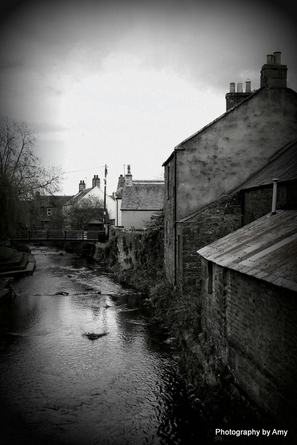 Alyth Scotland Black And White