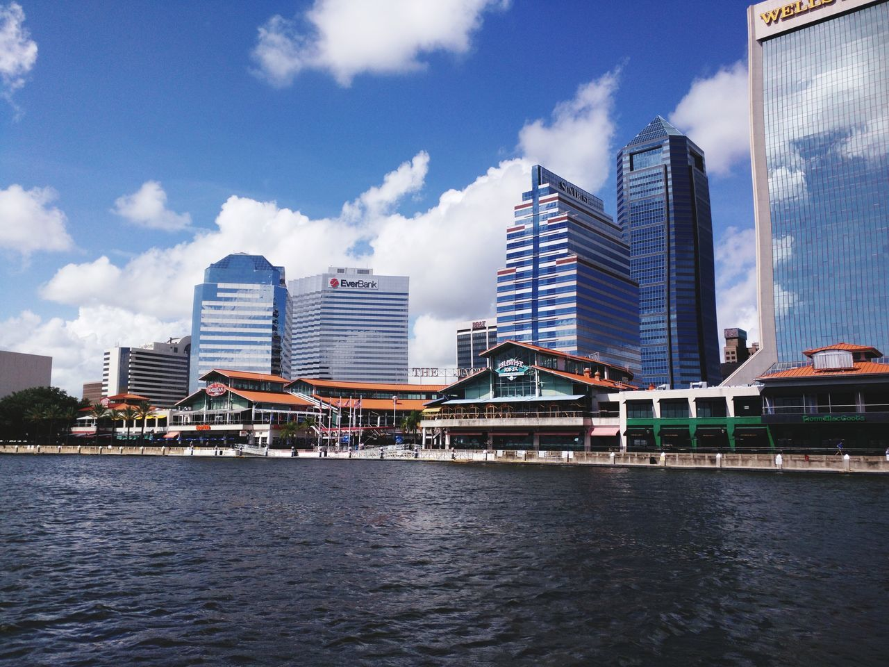 JacksonvilleFL City Architecture Waterfront