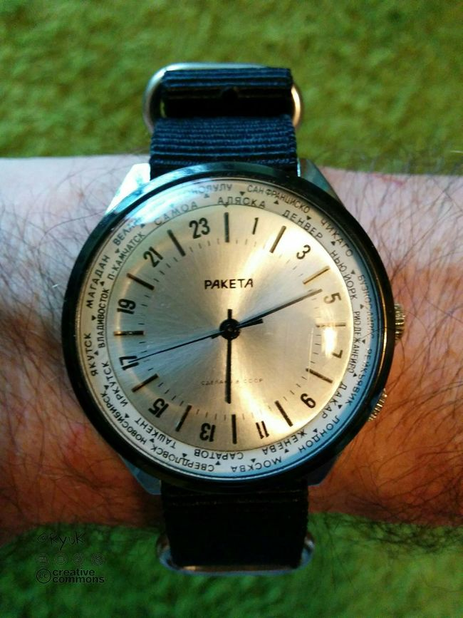 TheVille Streamzoofamily Watch Old Watch Raketa Old Times Wristwatch