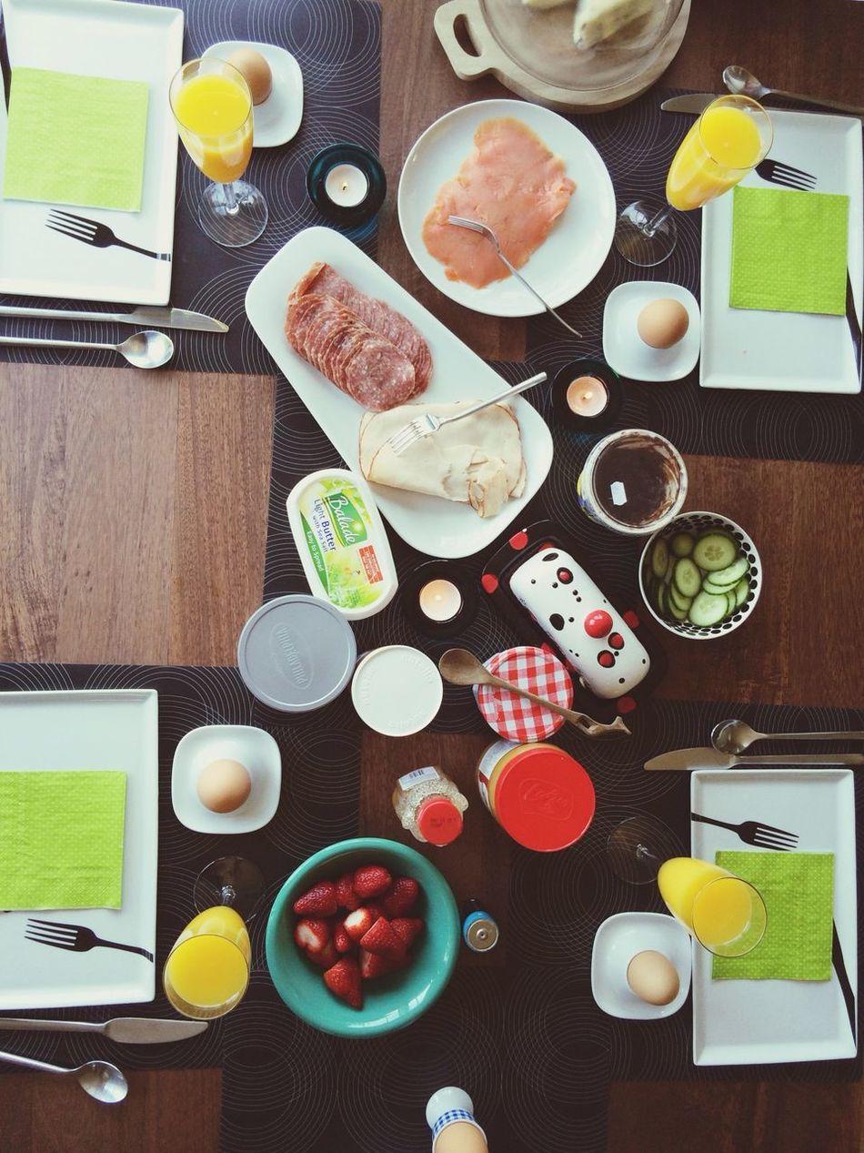 German style breakfast Breakfast Yummy