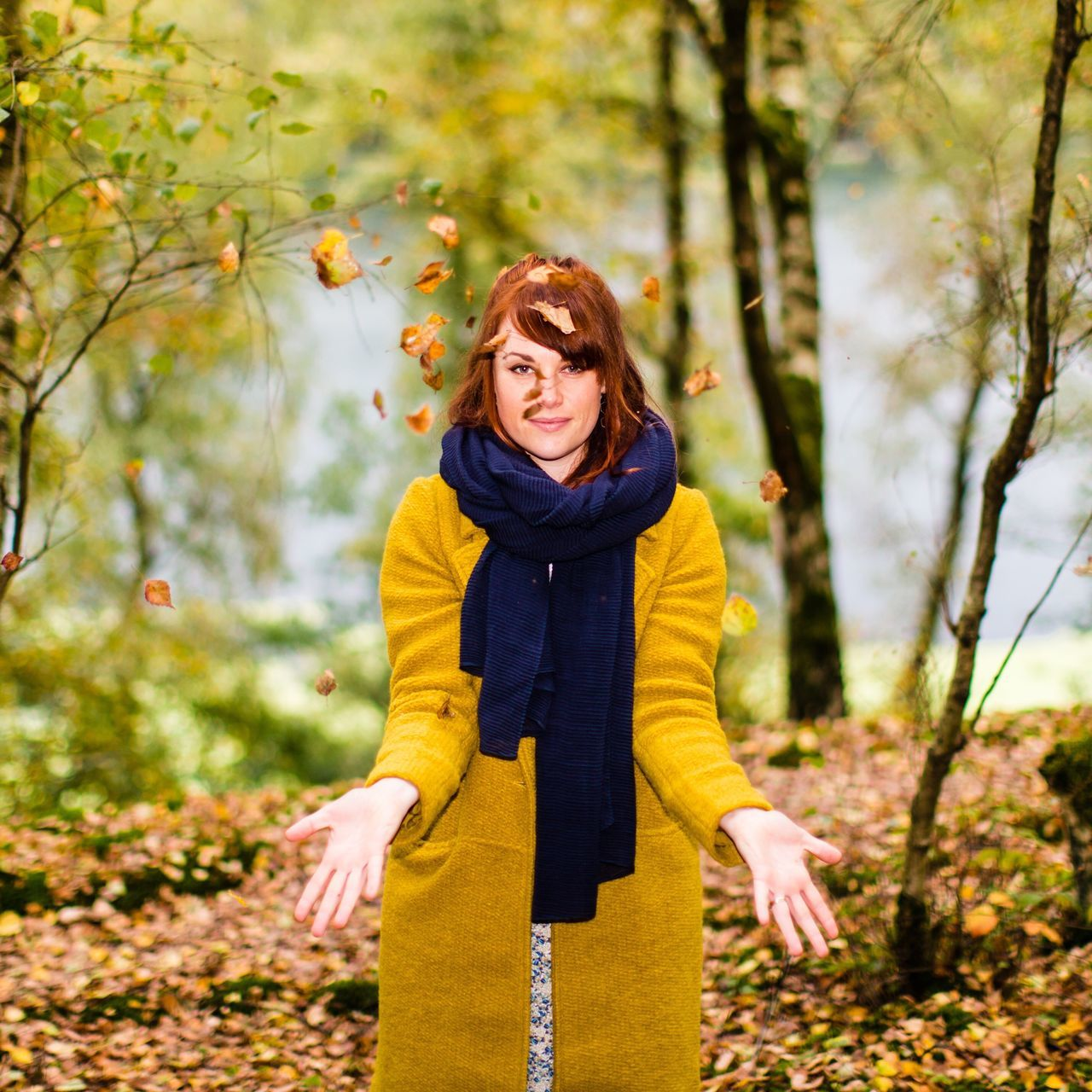 Autumn Lady | from my Autumn Sessions - no filter, 50mm - endlich Herbst 🍁🍁🍁 Leisure Activity Lifestyles Front View Casual Clothing Person Yellow Standing Portrait Focus On Foreground Looking At Camera Day Park - Man Made Space Young Adult Nature Outdoors Tourism Vacations Autumn Leaves Autumn AutumnSessions Outdoor Photography Looking At Camera TakeoverContrast