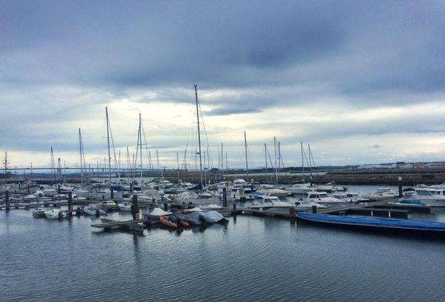 Nautical Vessel Sky Cloud - Sky Water Sailboat Sea Marina Day River Mondego River Mondego