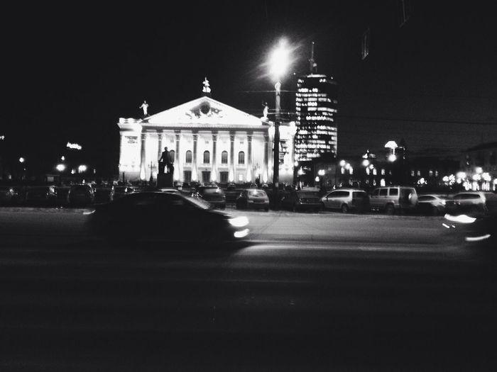 City Night Architecture Russia