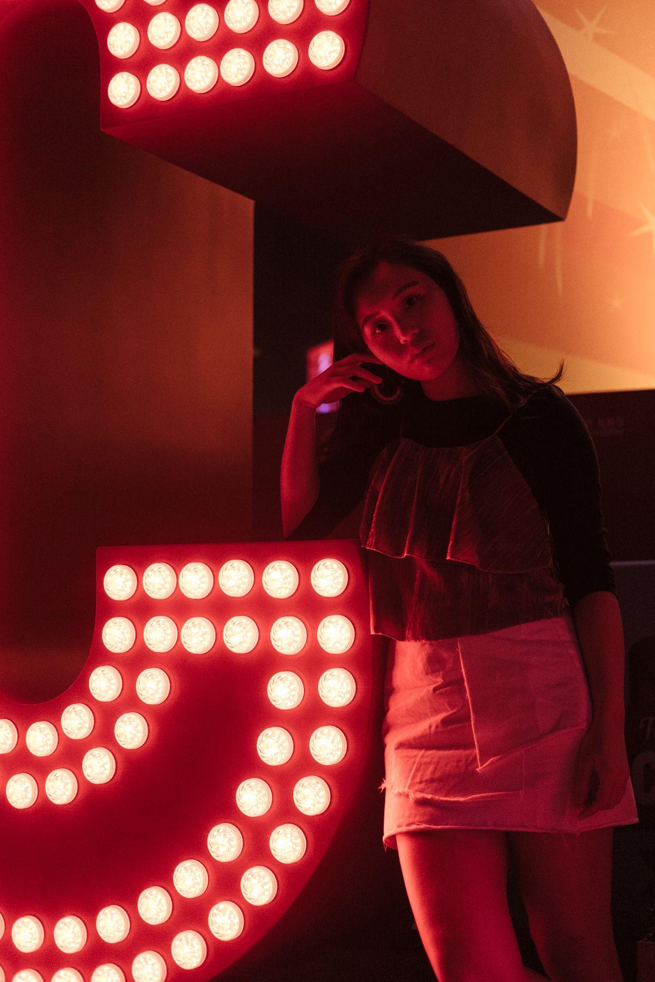 Explore Hk Lighting Equipment Lifestyles Young Women Night Portrait Of A Woman Portrait Portrait Of A Friend Fujifilm_xseries FUJIFILM X-T1 Fujifilm