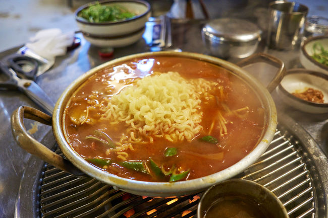 Close-up Food Kimchijigae Korean Food Meal Ready-to-eat Sigma19mmArt Sony A6000 Soup