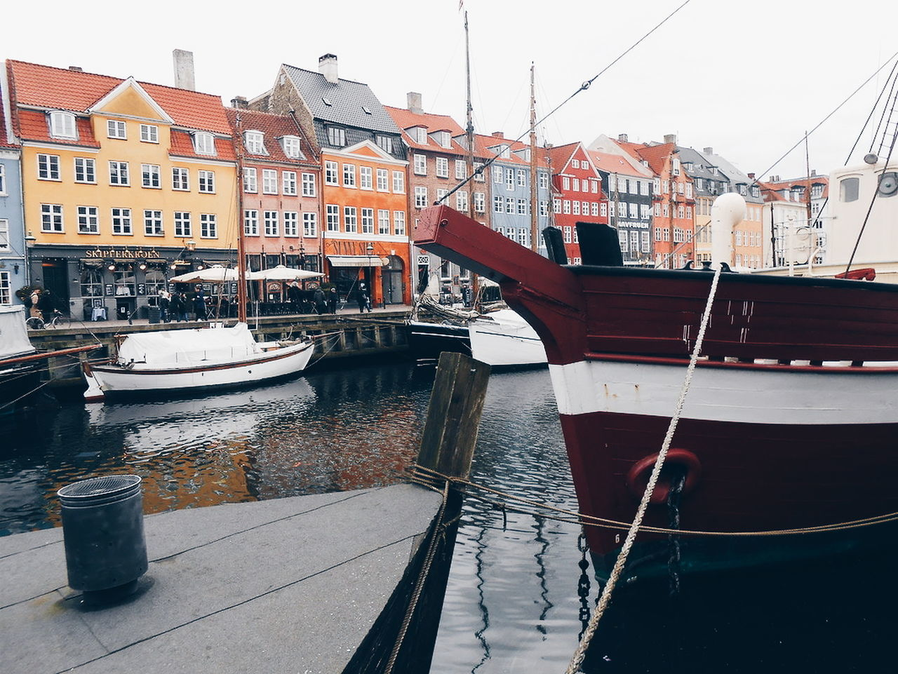copenhagen - nyhavn Architecture Reflection Building Exterior Water Built Structure Canal City Nautical Vessel One Person Outdoors Bridge - Man Made Structure People Day Gondola - Traditional Boat Gondolier Copenhagen Nyhavn Denmark Danmark København Colors Bridge Adventure