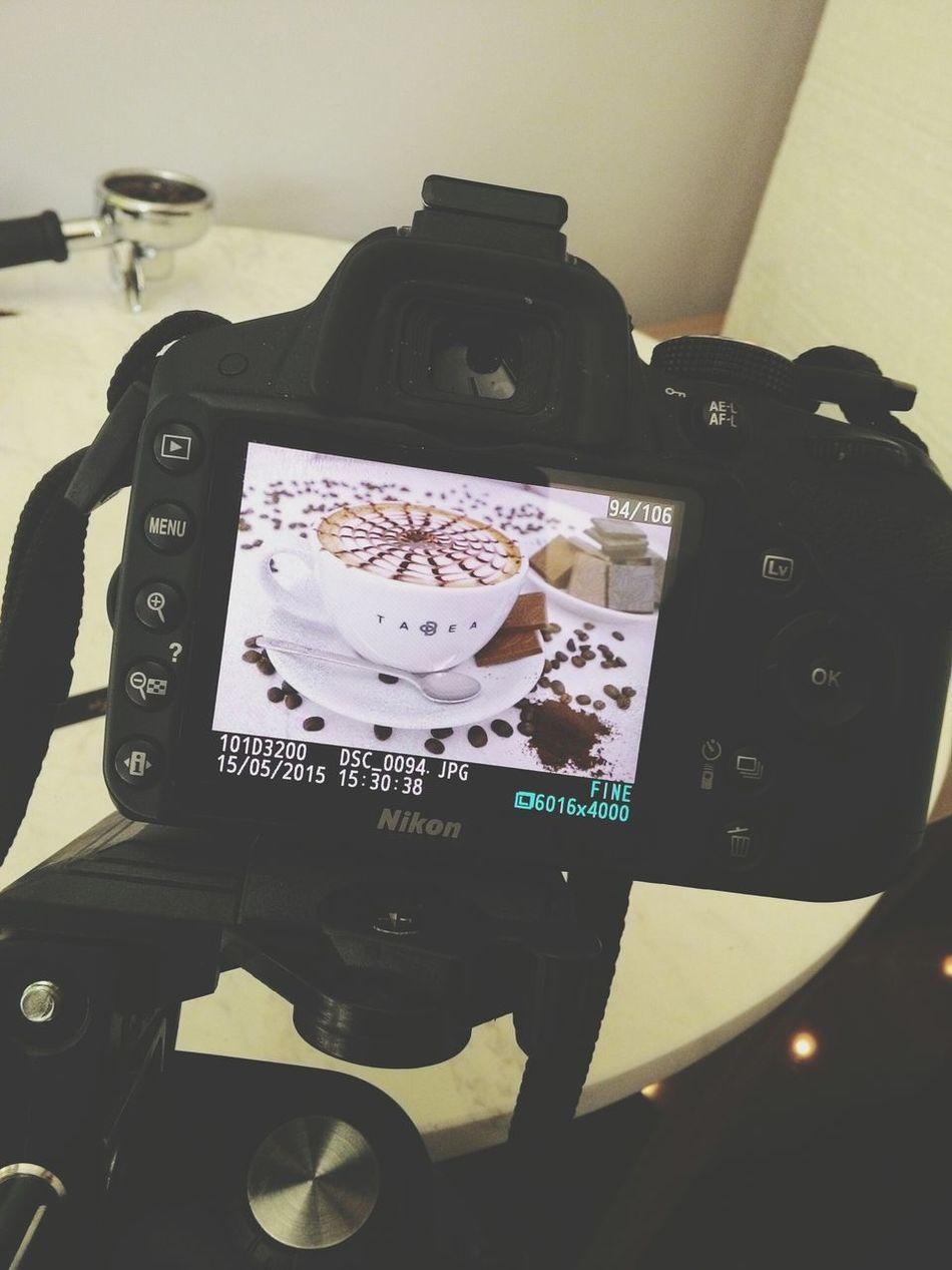 Kamera arkası Chocolate Cake Kısafilm Love Photography Behind Sugar Tatli