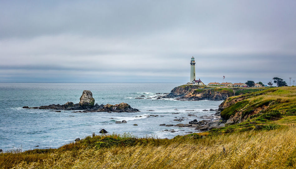 Beautiful stock photos of leuchtturm, sea, beach, water, horizon over water