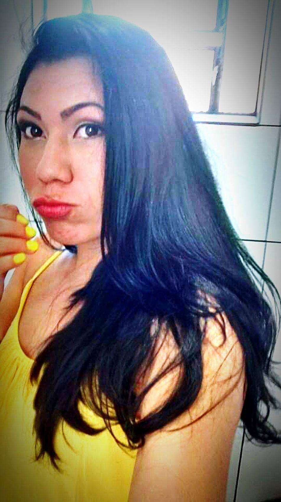 First Eyeem Photo Love ♥ Yellow Morena ❤ Ai Que Tudo!!!! Aniversário!  Dia Das Maes Family❤ Goodnight