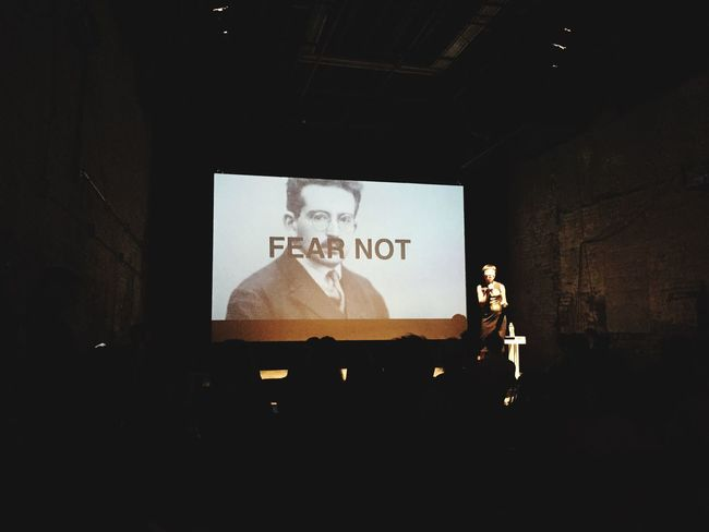 FEAR NOT! @VAJIAJIA from @Guggenheim EyeEmFestival15 Realphotography