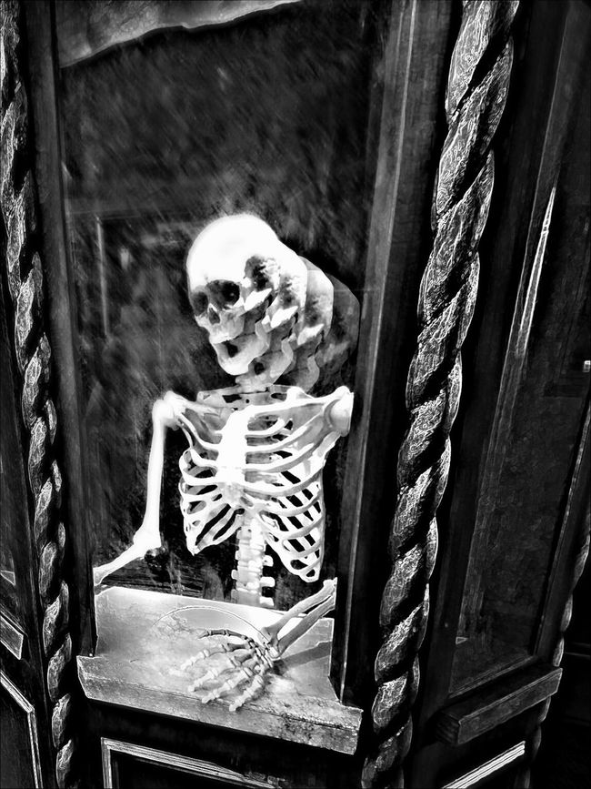 Jaded, faded, thought brigaded lovedat once yet often hated. Sentiment eviscerated, dug up bones were desecrated.... Strive to reconnect the brain, glory lost but.. Oh so sane... After death we still feel pain? A pride-scab scar....A human stain..... Everytime we die inside new holes form where old thoughts hide. Try to take the day in stride .. We said we're fine but probably lied..... Now another docile slave...Take the pills and just behave..Let go of that...that need you crave... Remains - set in an unmarked grave. Reality Is The Only Word In The Language That Should Always Be Used In Quotes Darkart Dark Photography Dark Darkness And Light Art, Drawing, Creativity Blancoynegro Blackandwhite Noiretblanc Poetry Skulls Skeleton Death Bnw_collection EyeEm Best Shots - Black + White Eye4photography  Notes From The Underground STAY HUMAN 💯 Looking To The Other Side