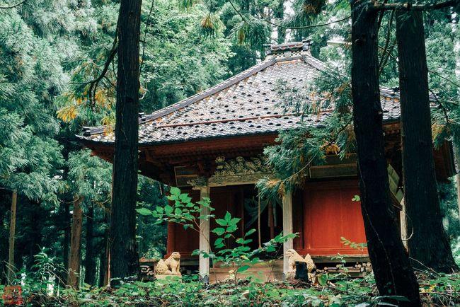 本明寺の即佛堂 Temple Tsuruoka 即身仏 寺 寺院 鶴岡 山形県