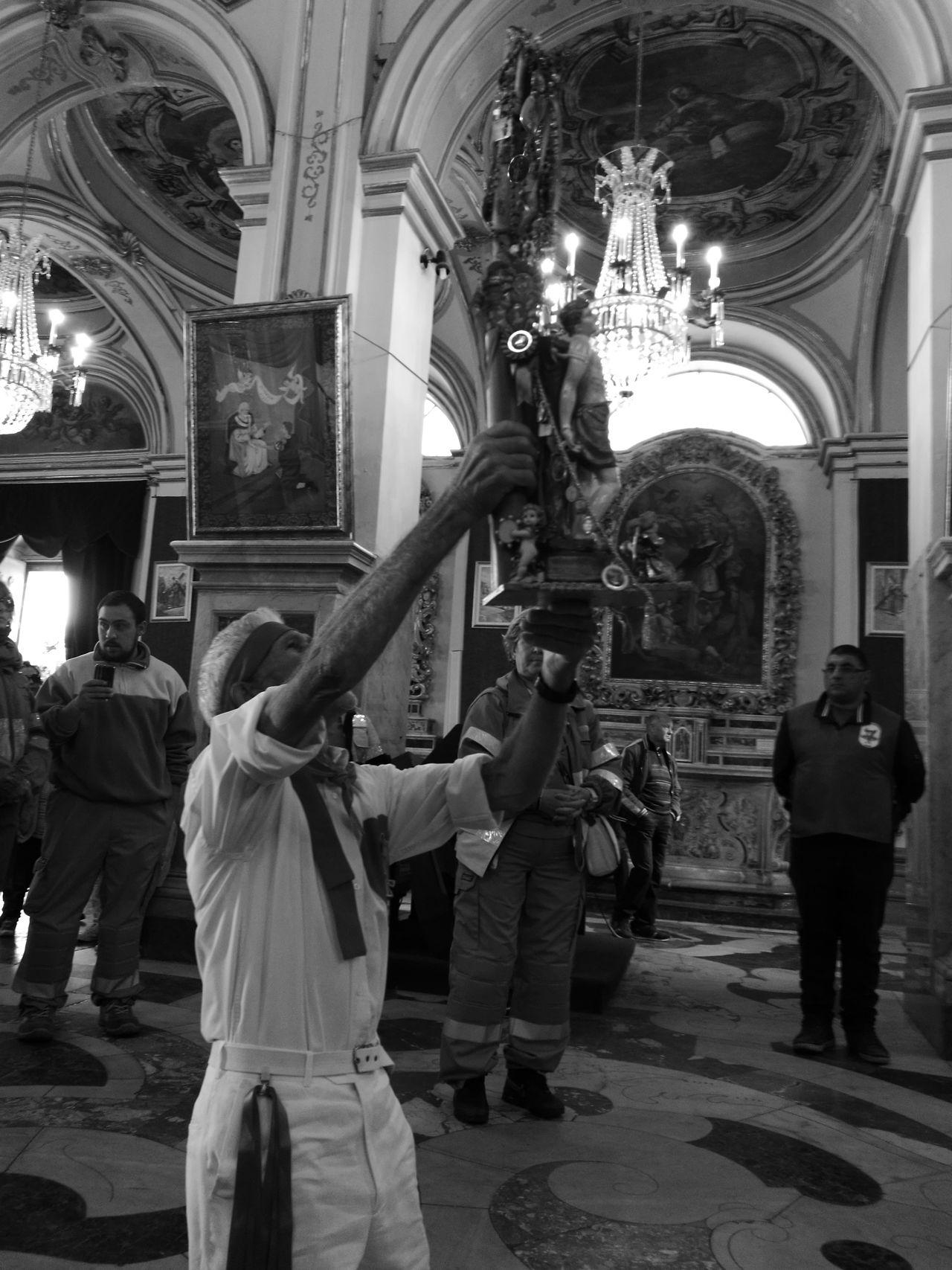 Devoto. Clero Siracusa Sicily Melilli Chiesa Priolo Gargallo Floridia  San Sebastiano Siracusa Fiore Barocco Sicily