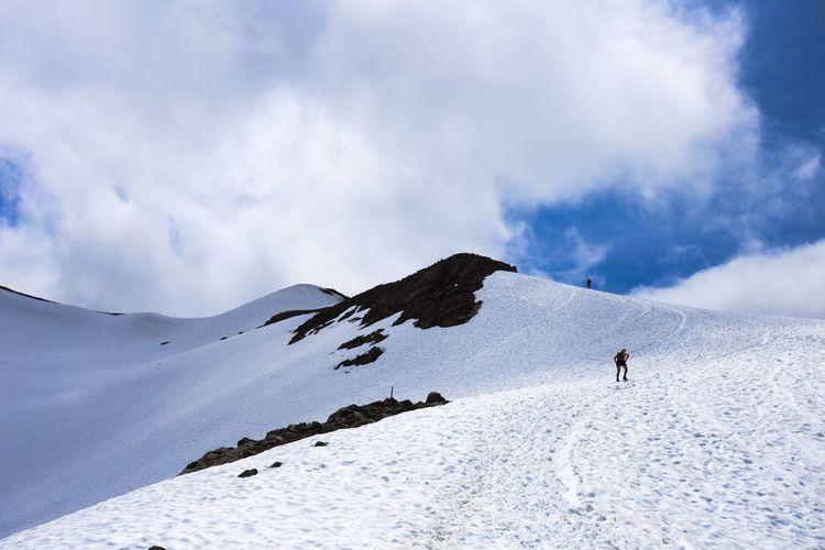 Mountain Snow Winter Adventure Outdoors Cold Temperature Cloud - Sky Hiking Hikingadventures Garibaldi Provincial Park Panorama Ridge