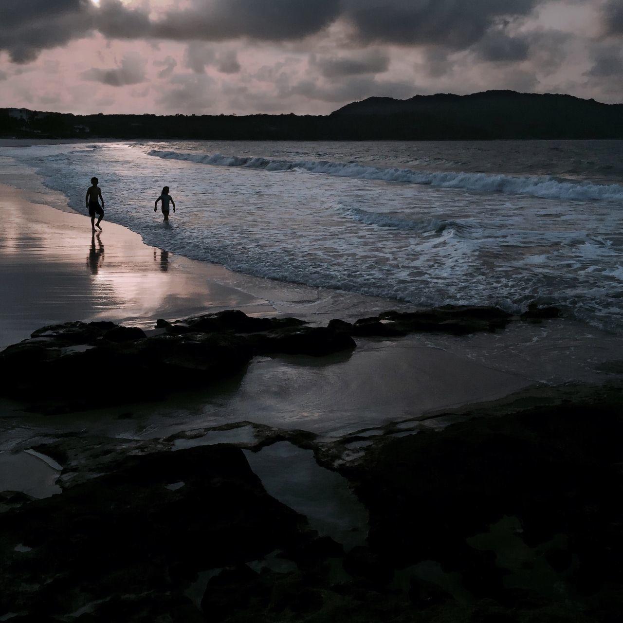 Beautiful stock photos of girl, Beach, Boys, Bucerías, Childhood