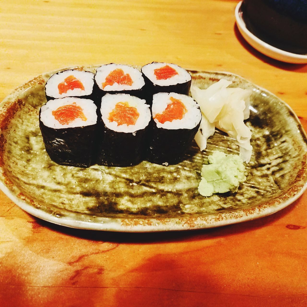 Food And Drink Still Life Indoors  Ready-to-eat Table Plate Japanese Food Sushi