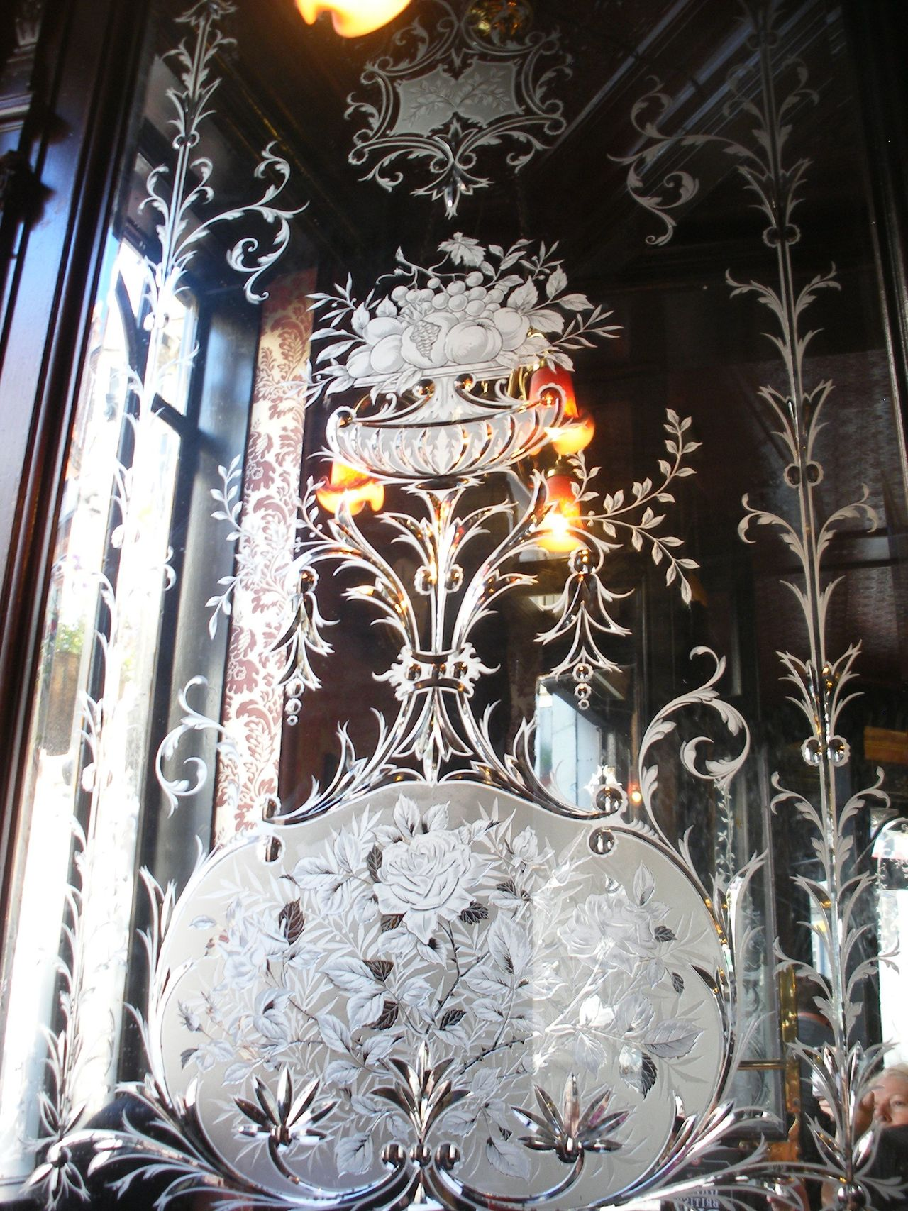 Architecture Day Etched Glass Indoors  London Pub Low Angle View No People Religion Tradition Victorian Architecture