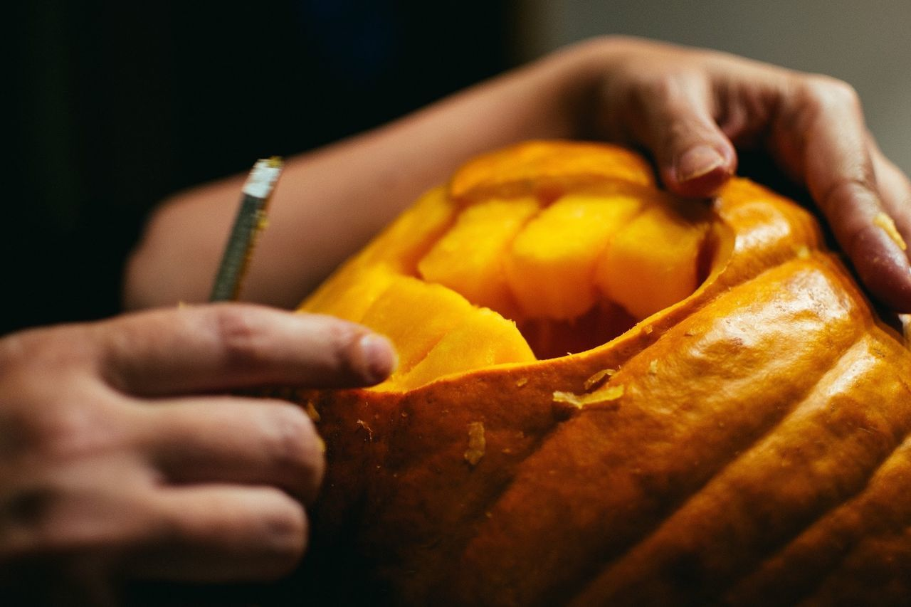 Beautiful stock photos of pumpkin, Boys, Carving, Carving Food, Celebration