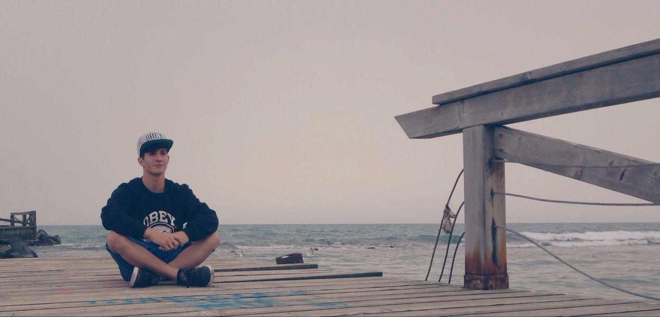 OBEY Ocean Beach Boy