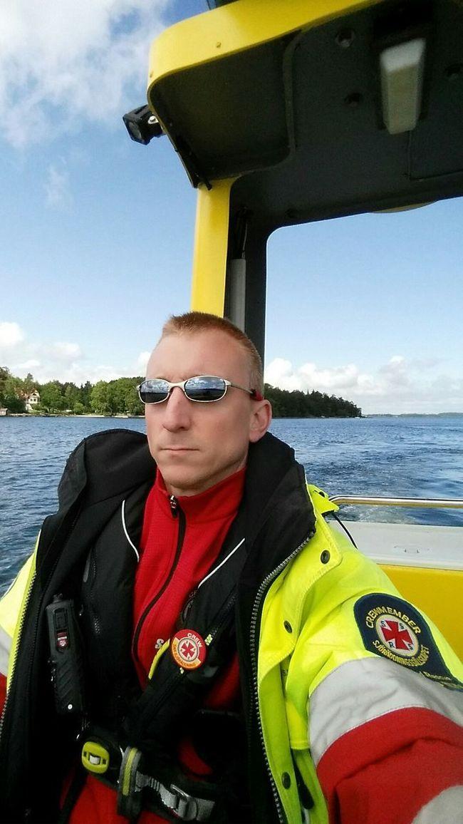 Rescue Sea Boat That's Me! Sjöräddningssällskapet Rescue station Räfsnäs in Sweden Volontery Organization