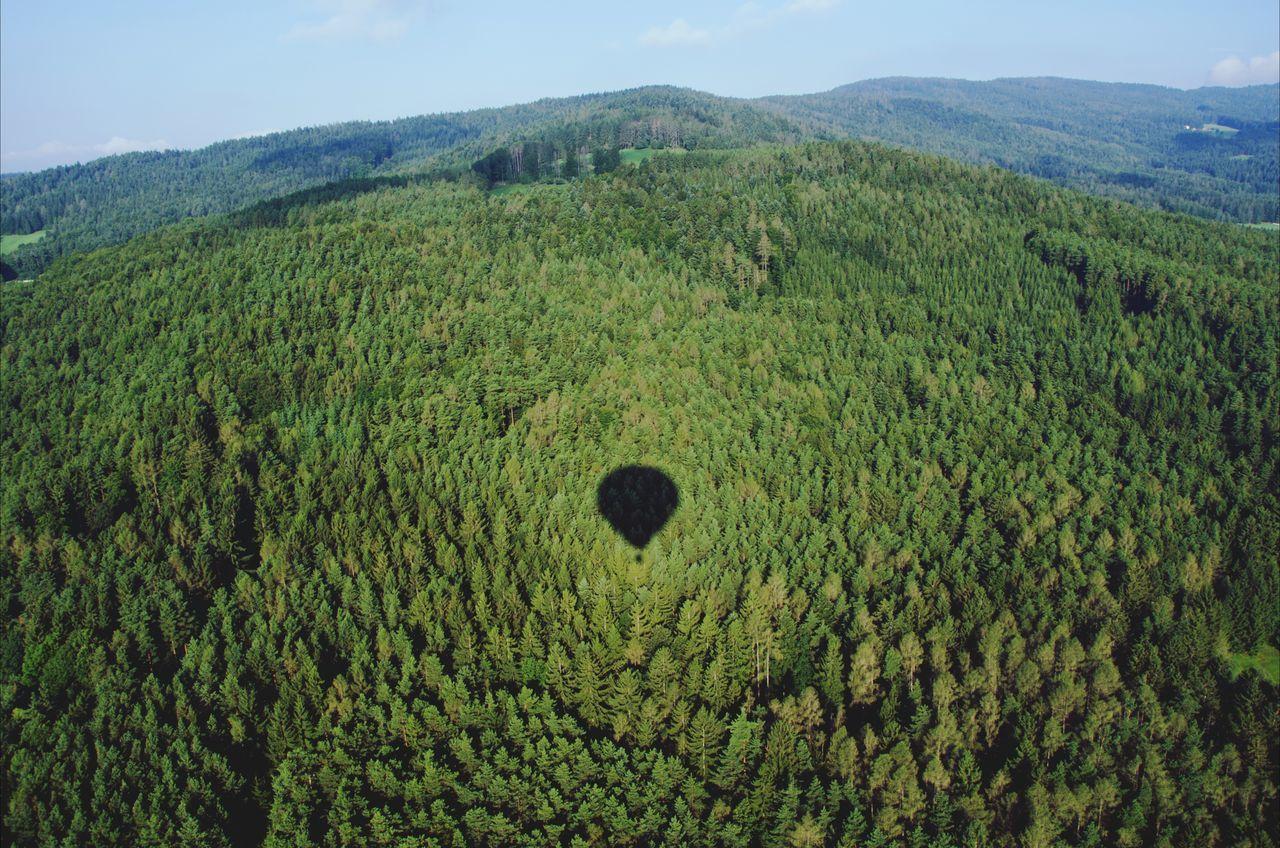 Nature Photography Nature Hotairballoon Austria