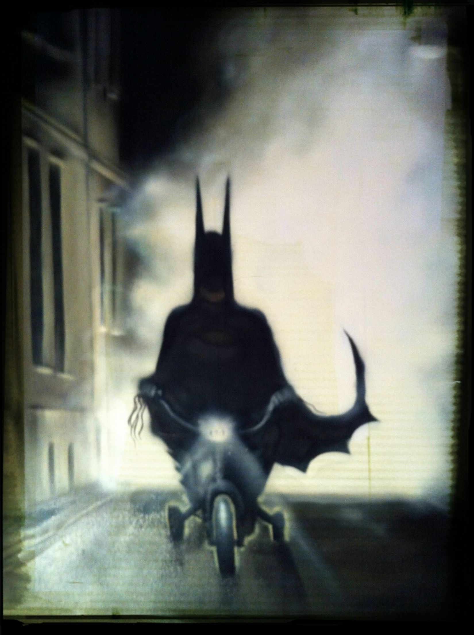 Art Bike Batman Sokar Uno