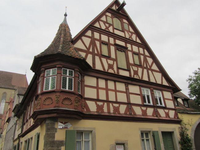Rothenburg O. T. Fachwerkhaus Germany