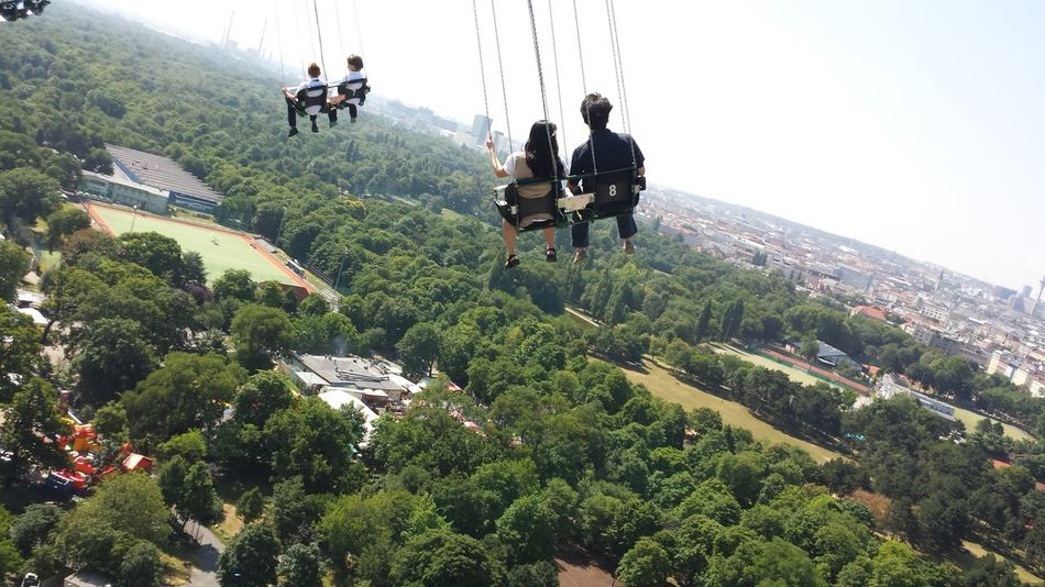 Beautiful stock photos of vienna, Amusement Park Ride, Arts Culture And Entertainment, Carousel, Chain Swing Ride