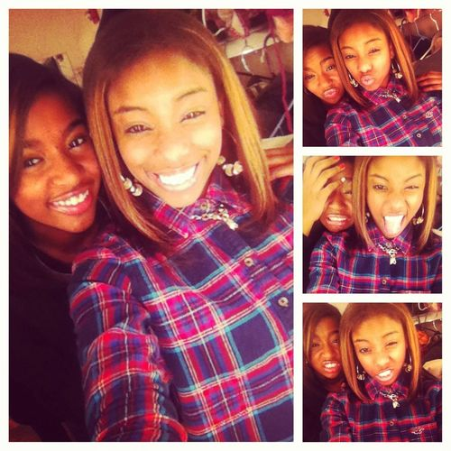 This Girl Is My Twinn There Threw Thick And Thin Love Her Man