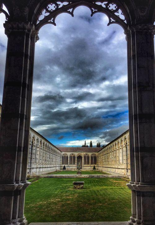Pisa Piazza Dei Miracoli Camposanto