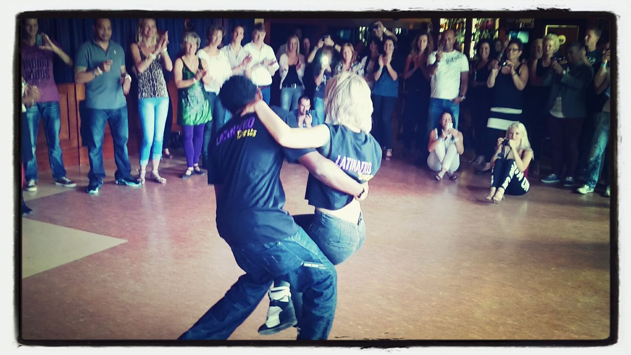Some Kizomba workshop and Demo in Zeeland  org by @MiSalsa_nl