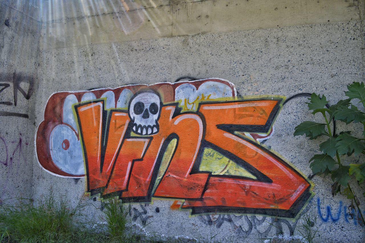 graffiti, communication, outdoors, no people, day, close-up