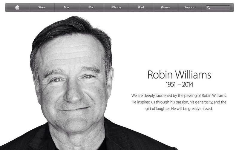 Robin Williams Apple Robin Williams Follow Me