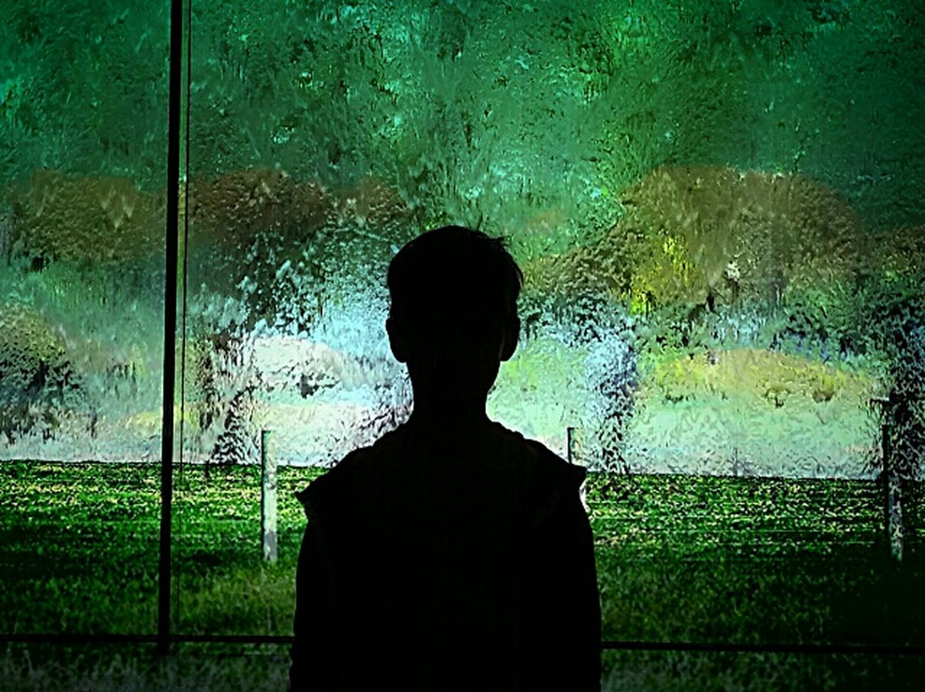 Ngvmelbourne Melbourne Teal Silhouette My Son Melbourne Rocks Photography Superimpose