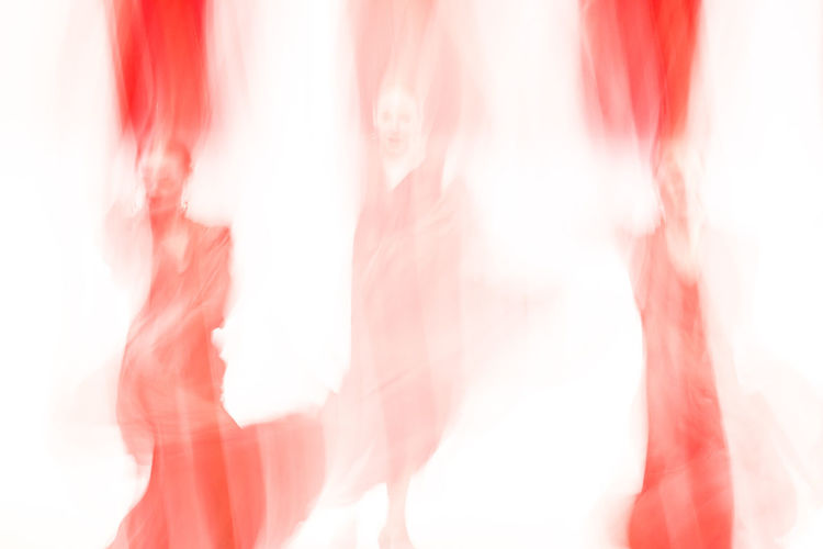 Abstract Abstract Photography Blurred Blurred Movement Dance Dance Performance Dancer Dancing Experimental Experimental Photography Folkwang University Human Body Part Indoors  People Red Red And White White Background Young Women AI Now