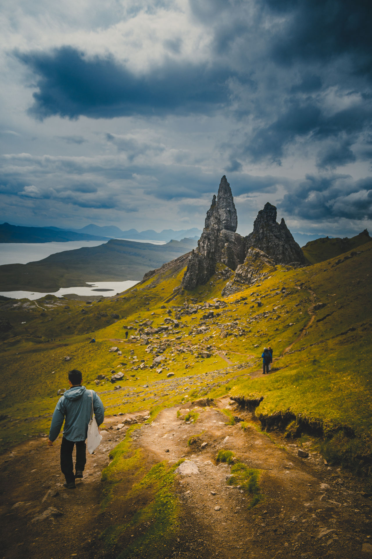 Mountain Hiking One Man Only Adventure One Person Tourism Walking Vacations Scenics Travel Travel Destinations Exploration Adult Landscape Mountain Range EyeEm Love Beauty EyeEm Best Shots Eye4photography  New Outdoors The Great Outdoors - 2017 EyeEm Awards Epic Scotland