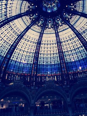 Shopping at Galeries Lafayette by Nanaco