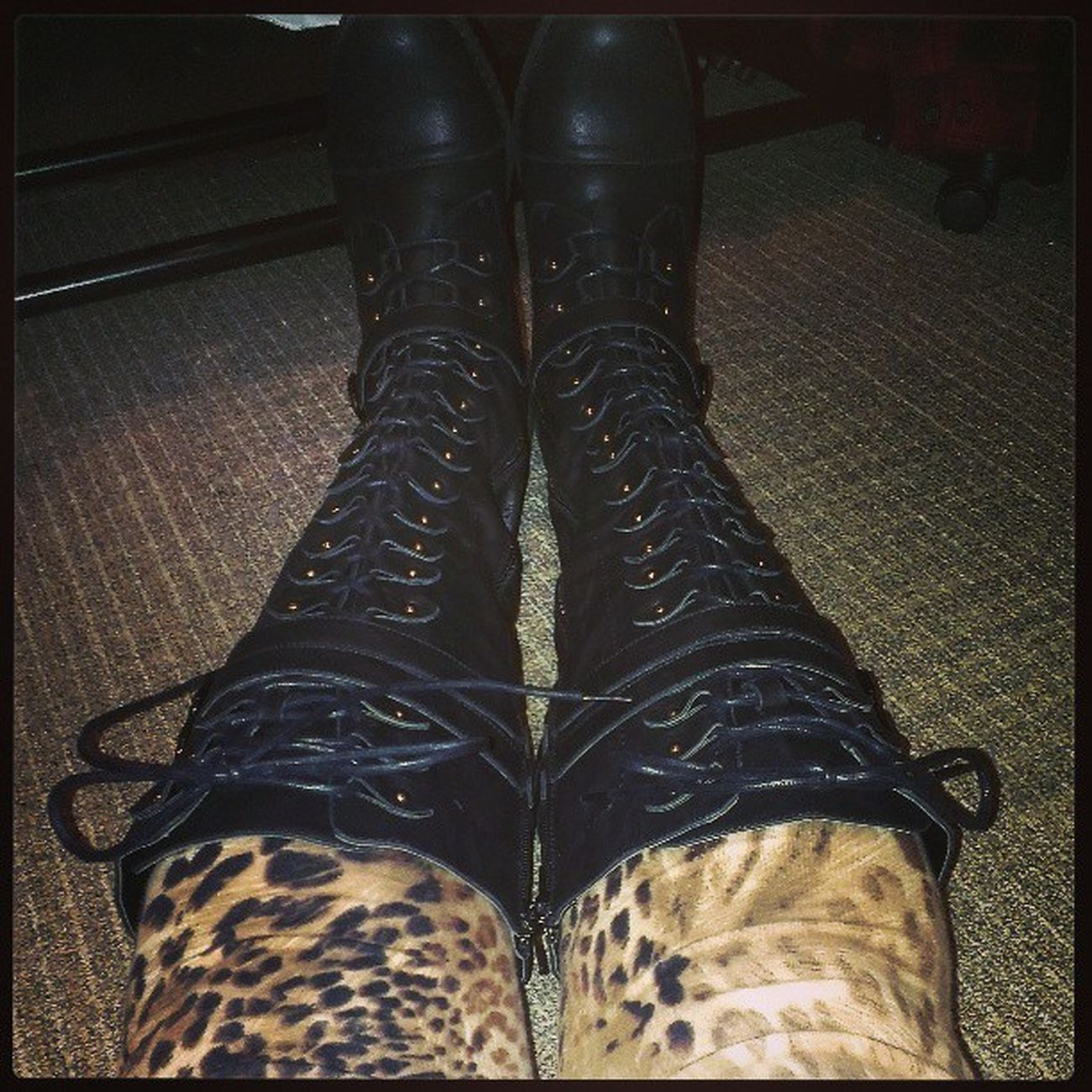 Gojane has some kickass boots. They ended up fitting too. Getting hubs out of the house tonight. Boots Addiction