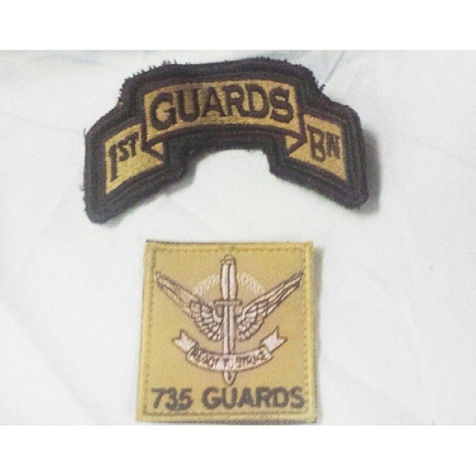 1st Battalion Singapore Guards then... 735 Battalion Singapore Guards now.. 1gds 735guards Earnit Hurrah reservist