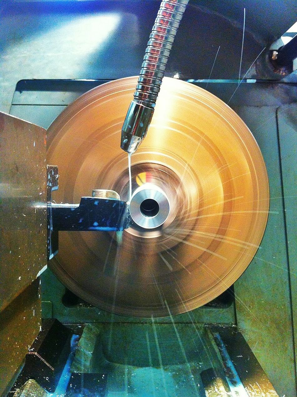 Spinning Cutting Metal Engineering Fine Cut Hdr Edit HDR Cool Spin How