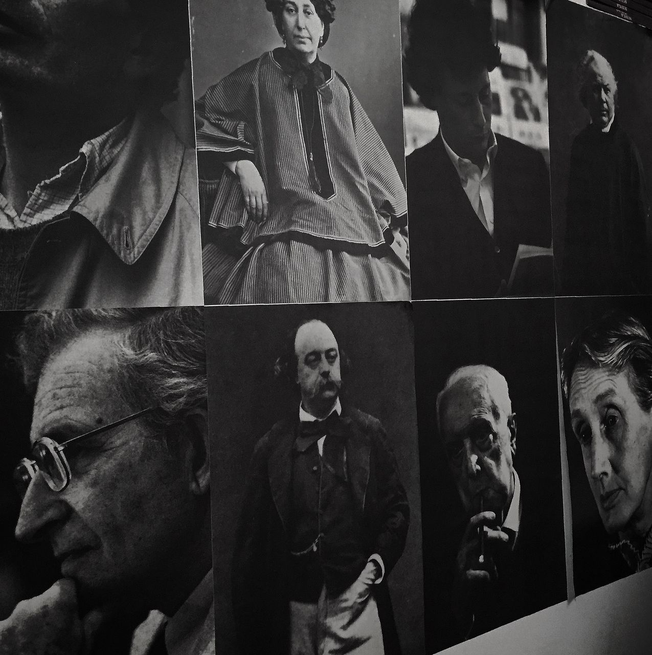 senior adult, real people, men, statue, indoors, multiple image, portrait, day, people